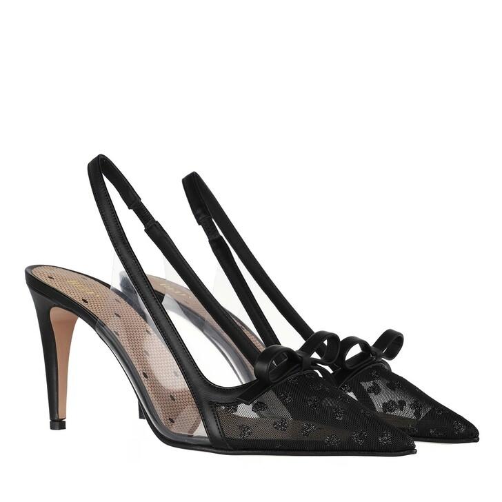 Schuh, Red Valentino, Pump Black Transparent