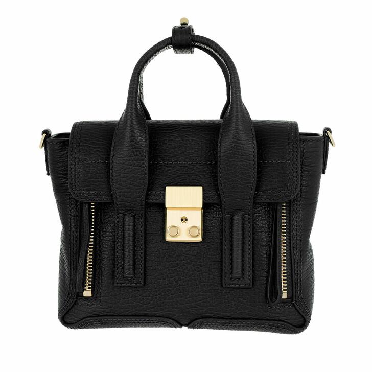 Handtasche, 3.1 Phillip Lim, Pashli Mini Satchel Black