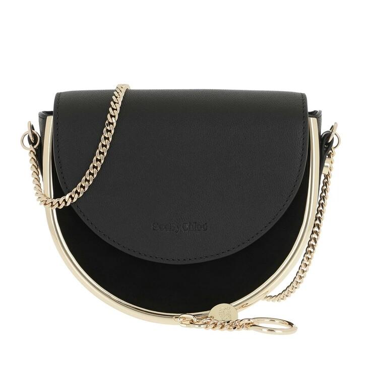 bags, See By Chloé, Mara Crossbody Bag Leather Black