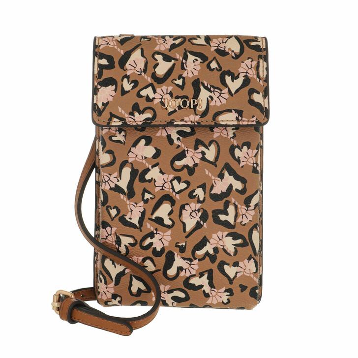 Smartphone/Tablet case (Case), JOOP!, Cortina Amore Pippa Phonecase Lvf Cognac