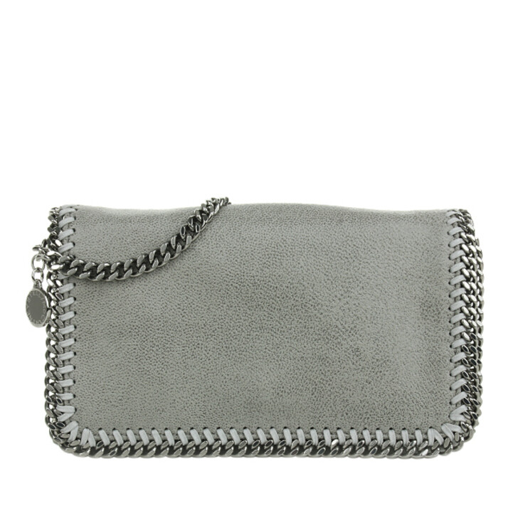 Handtasche, Stella McCartney, Falabella Shaggy Deer Cross Body Bag Light Grey