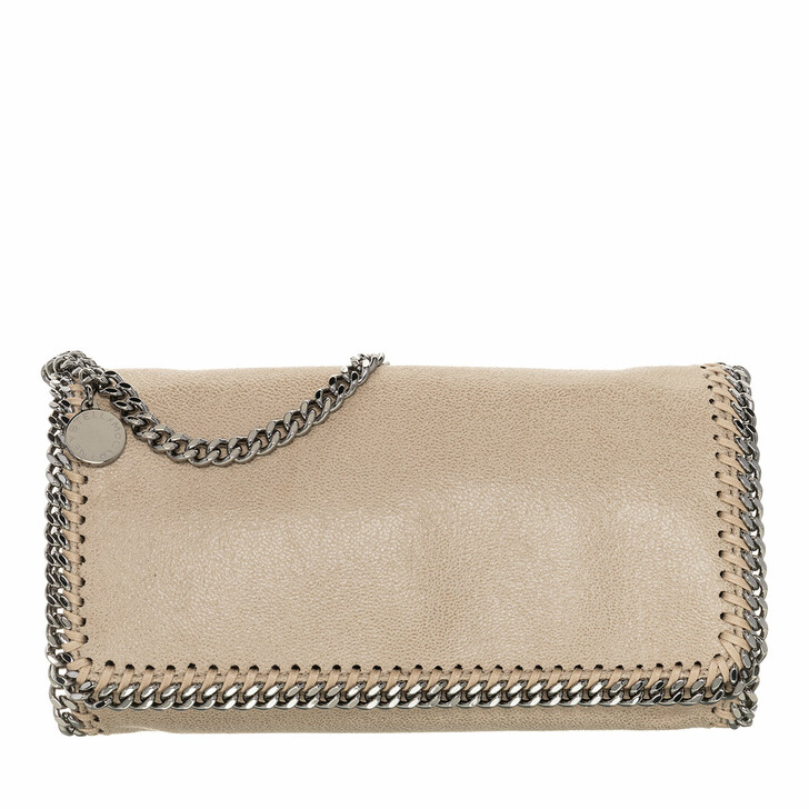 Handtasche, Stella McCartney, Falabella Shaggy Deer Crossbody Bag Butter Cream