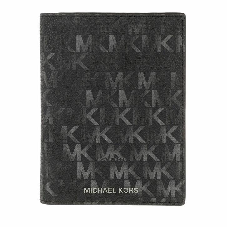 Geldbörse, MICHAEL Michael Kors, Passport Case Black