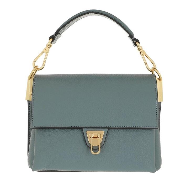 bags, Coccinelle, Marvin Desir Handbag Grainy Leather  Shark Grey