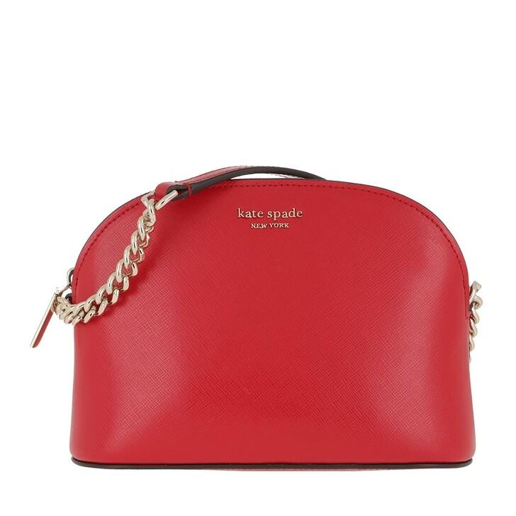 bags, Kate Spade New York, Small Dome Crossbody Bag Hot Chili