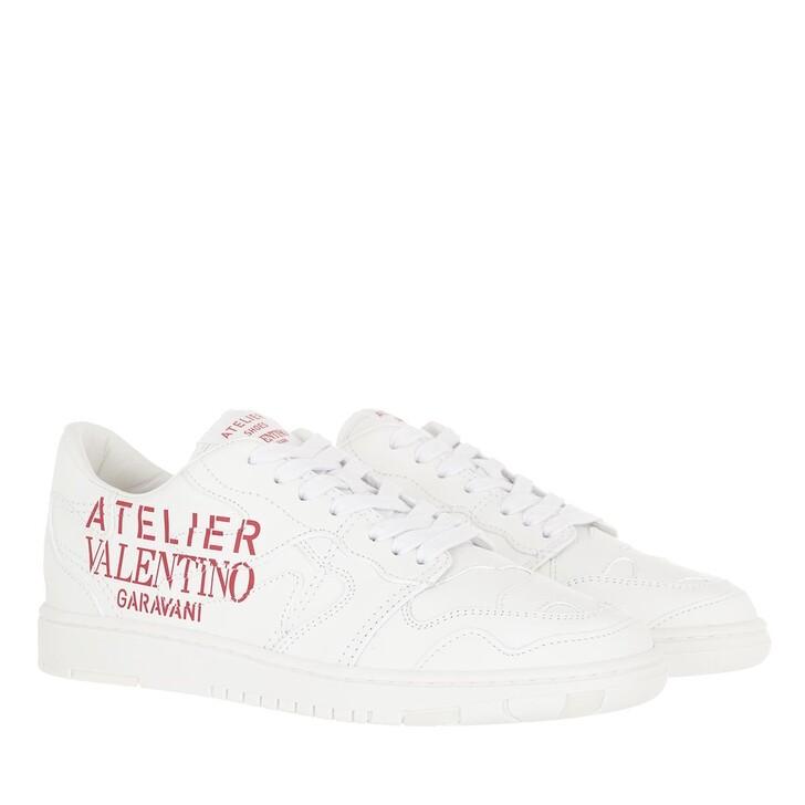 shoes, Valentino Garavani, Atelier 07 Camouflage Edition Low Top Sneaker White