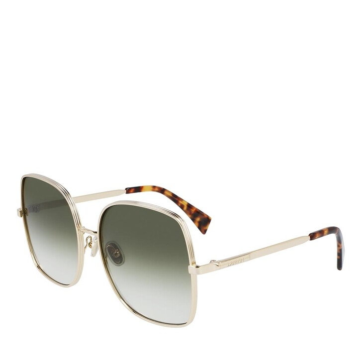 sunglasses, Lanvin, LNV106S GOLD/GRADIENT GREEN
