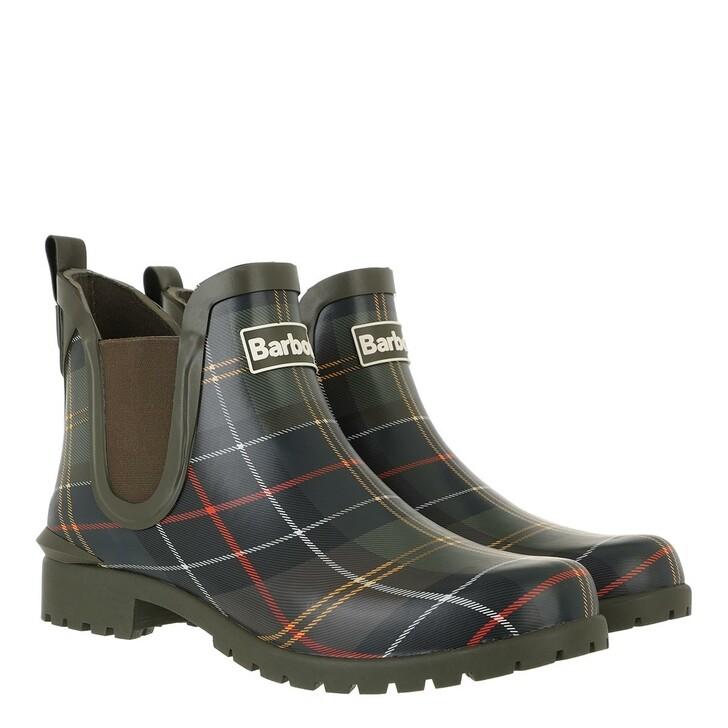 shoes, Barbour, Wilton Boots Classic Tartan