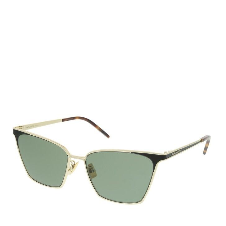 Sonnenbrille, Saint Laurent, SL 429-002 56 Sunglasses Woman Gold