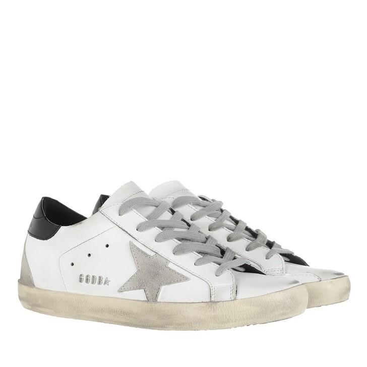 Schuh, Golden Goose, Superstar Sneakers White/Ice/Black