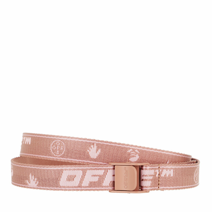 Gürtel, Off-White, New Logo Mini Industrial Belt Dusty Pink