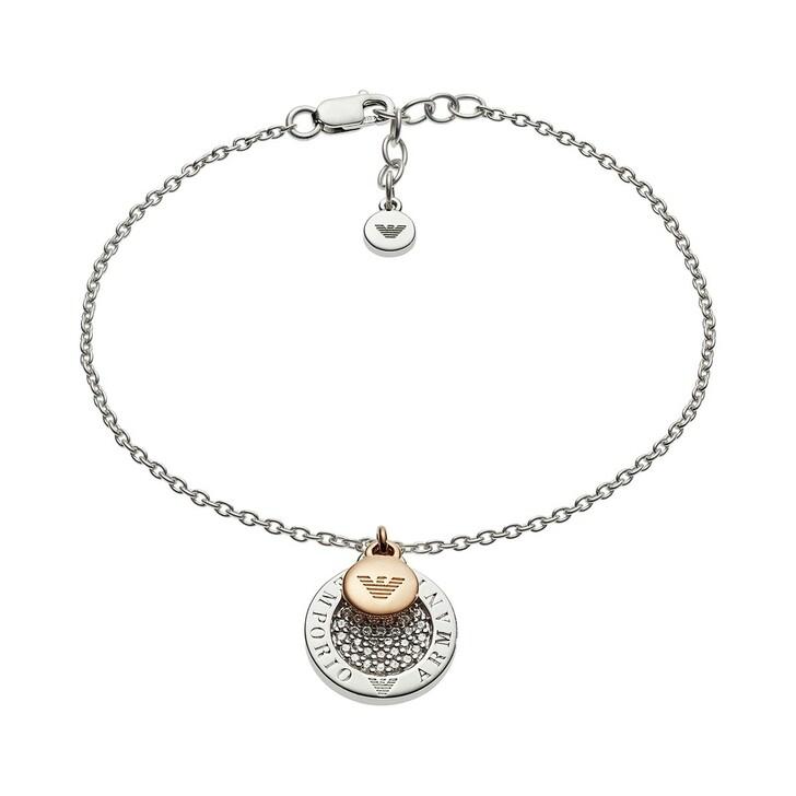 bracelets, Emporio Armani, EG3378040 Bracelet Roségold/Silver