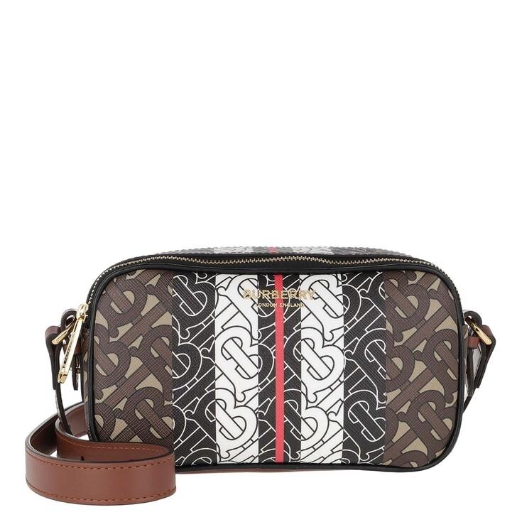 Handtasche, Burberry, TB Logo Crossbody Bag Bridle Brown