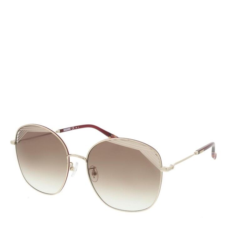 Sonnenbrille, Missoni, MIS 0014/S Burgundy Gold