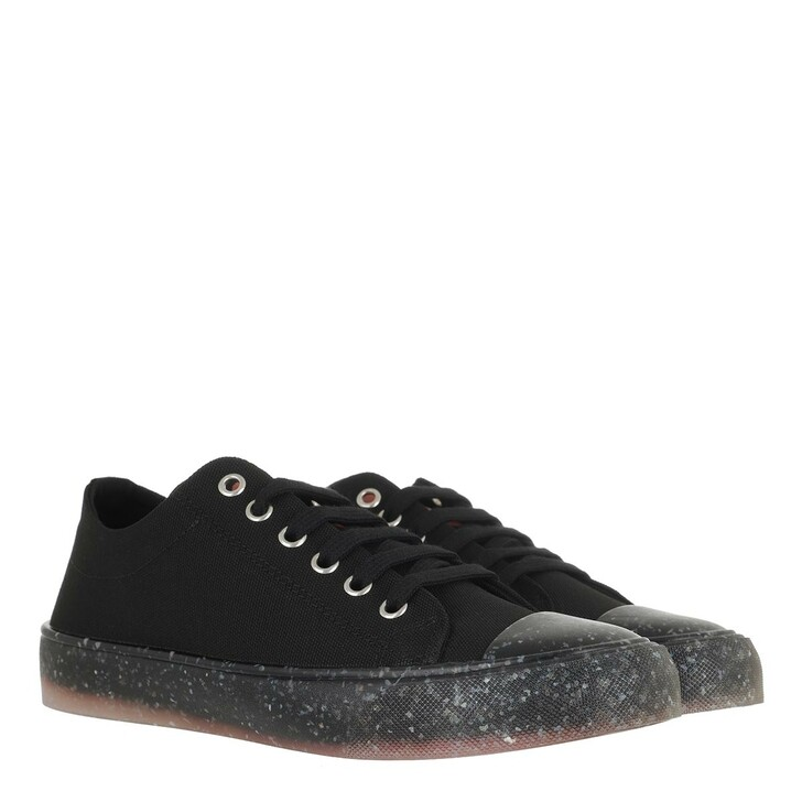 Schuh, Love Moschino, Sneaker Eco30 Canvas Nero