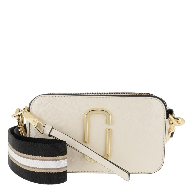 Handtasche, Marc Jacobs, Snapshot Crossbody Bag Cloud White/Multi