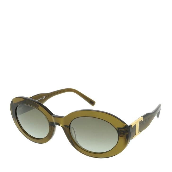 Sonnenbrille, Tod's, TO0288 KUNSTSTOFF SONNENBRILLEN Olive