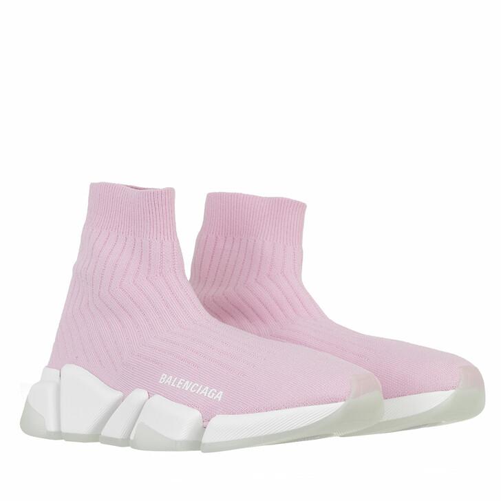 shoes, Balenciaga, Speed 2.0 Sneakers Pink/White/Black