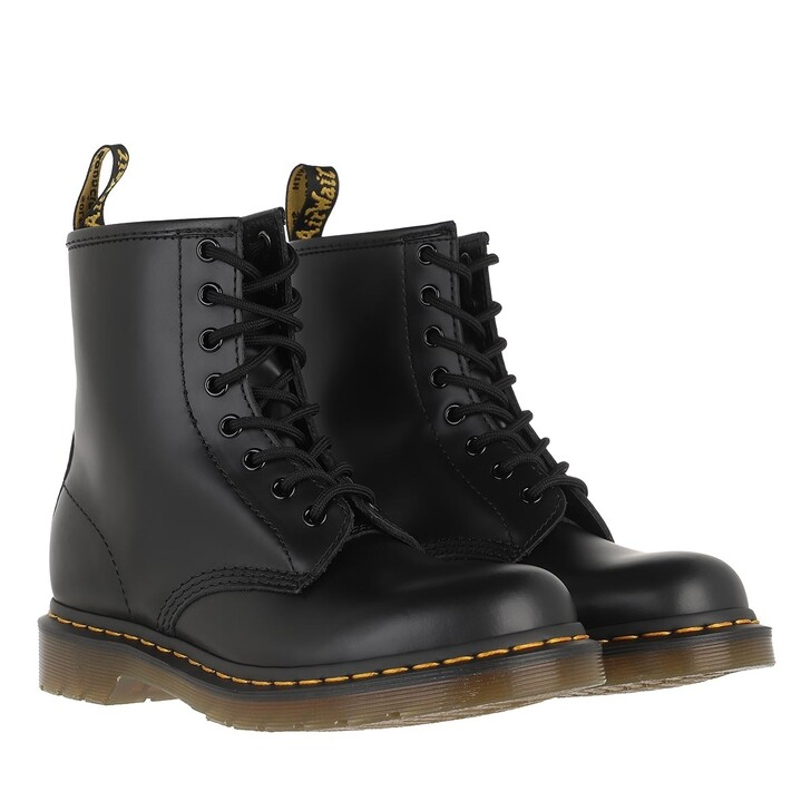 shoes, Dr. Martens, 1460 Smooth Boot Leather Black