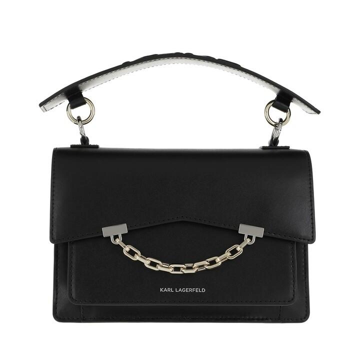 Handtasche, Karl Lagerfeld, Karl Seven Shoulderbag Black