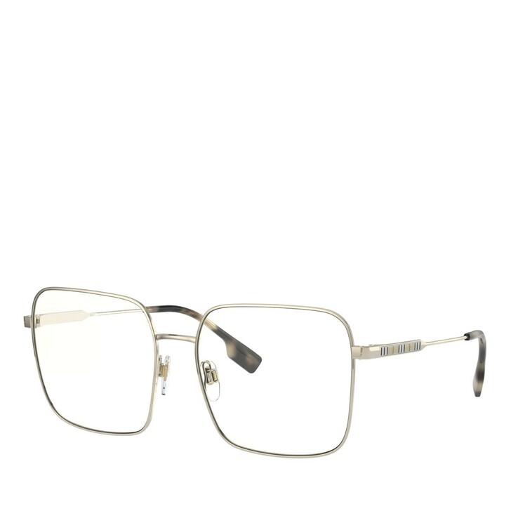 Brillen mit Gläsern, Burberry, STAHL WOMEN SONNE LIGHT GOLD