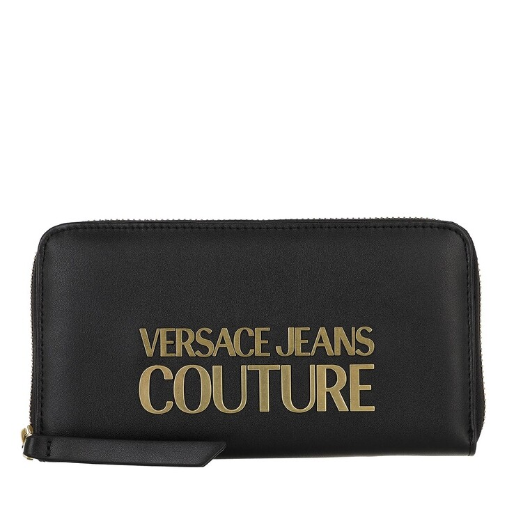 wallets, Versace Jeans Couture, Wallet Black