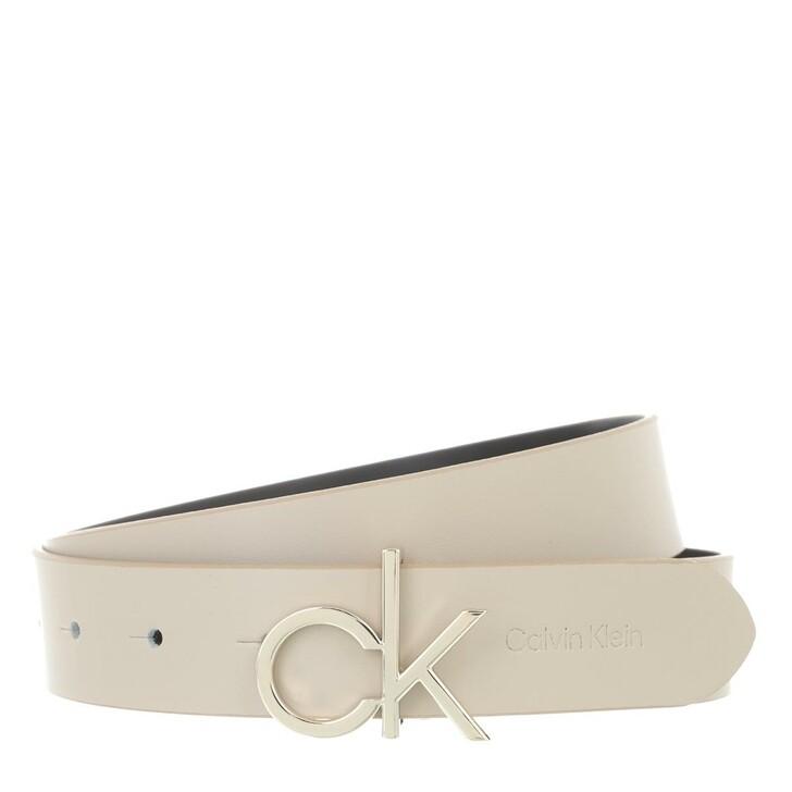 belts, Calvin Klein, CK Logo Belt 30mm Taupe