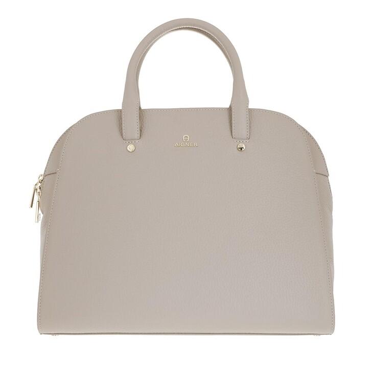 bags, AIGNER, Ivy Handbag Clay Grey