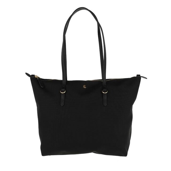 bags, Lauren Ralph Lauren, Keaton 26 Tote Small Black