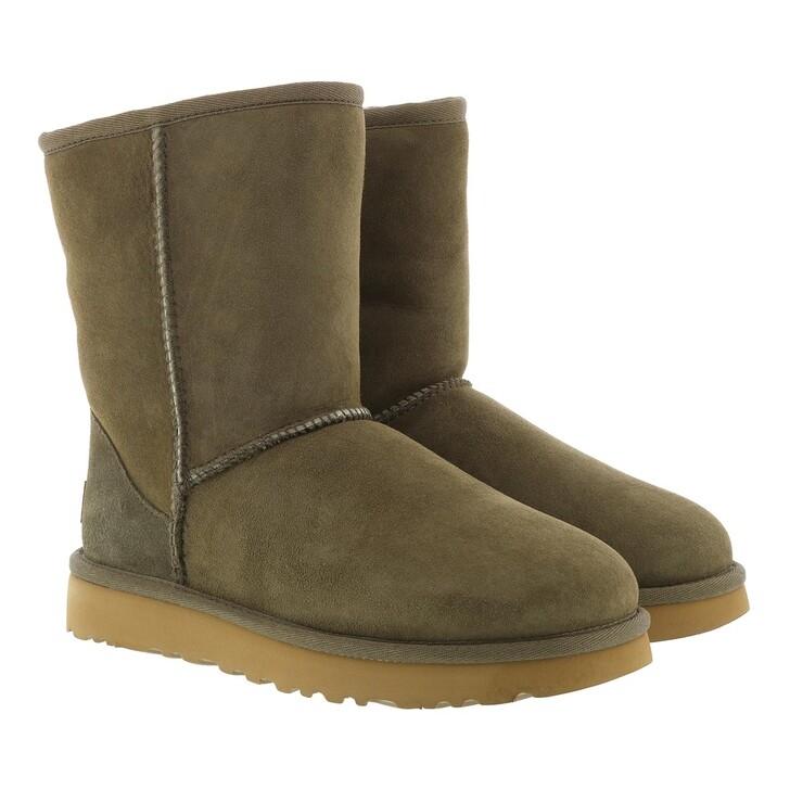 shoes, UGG, W Classic Short II Eucalytpus