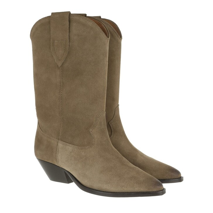 Schuh, Isabel Marant, Duerto Boots Taupe