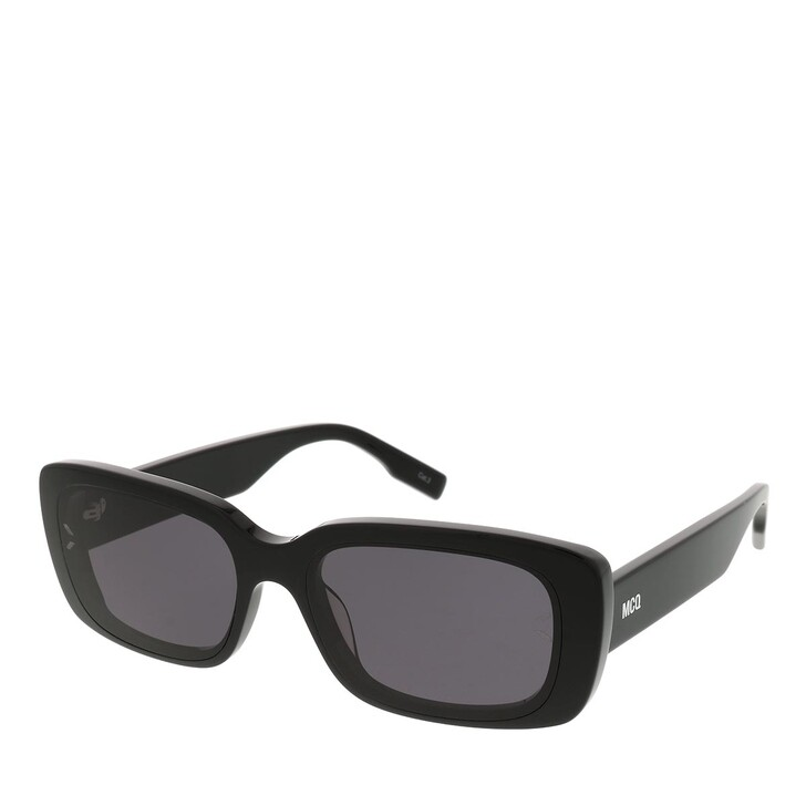 Sonnenbrille, McQ, MQ0301S-001 57 Sunglass UNISEX ACETATE BLACK