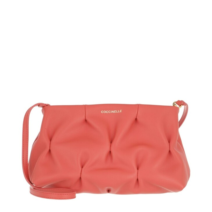 Handtasche, Coccinelle, Ophelie Goodie Bowling Bag Coral Red
