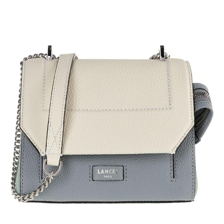 Handtasche, Lancel, Ninon Grained Leather Flap Bag Small Multicolour Maldives