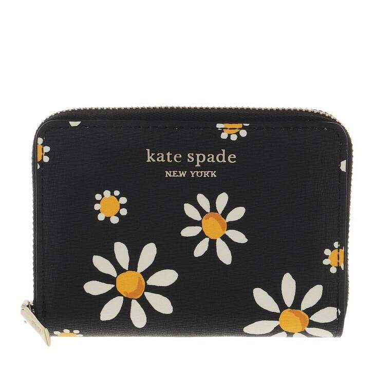 wallets, Kate Spade New York, Zip Card Case  Black Multi
