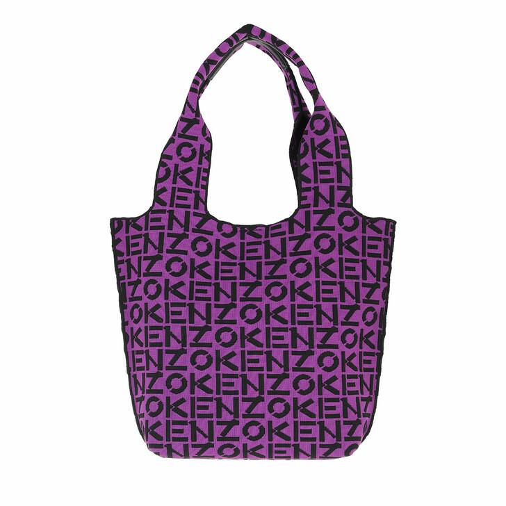 bags, Kenzo, Shopper/Tote bag Purple