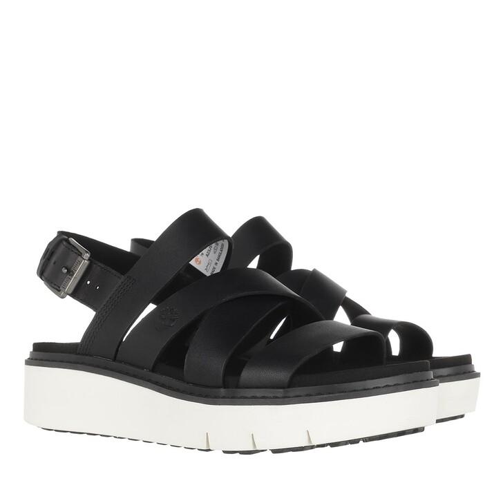 Schuh, Timberland, Safari Dawn Front Strap Sandals Black