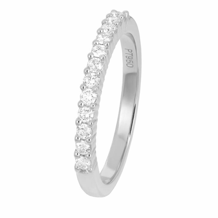 rings, VOLARE, Ring 12 Brill ca. 0,25  Platinum