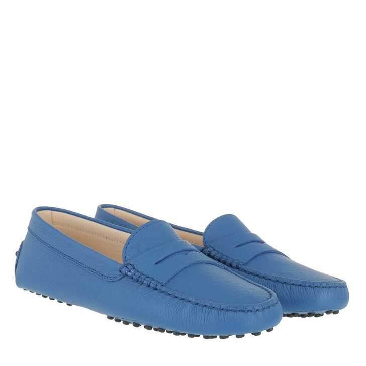 Schuh, Tod's, Moccassins Leather Sapphire