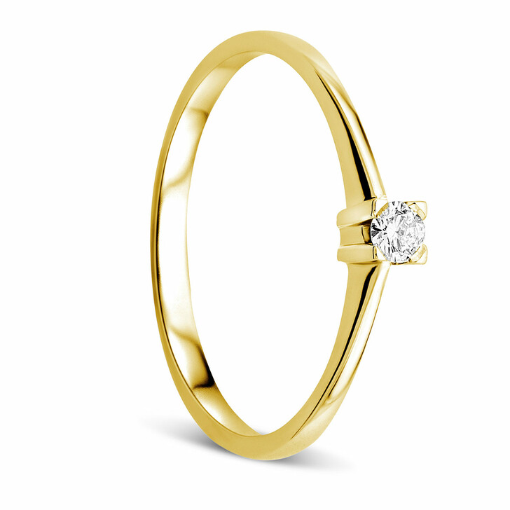 rings, DIAMADA, Ring 18ct with Diamond Yellow Gold