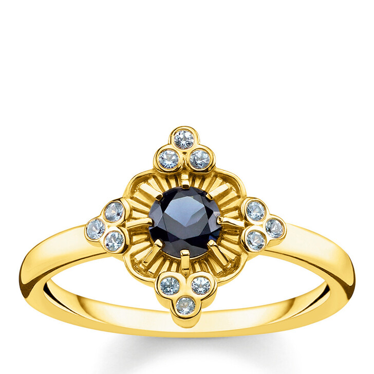 rings, Thomas Sabo, Ring Royalty Gold