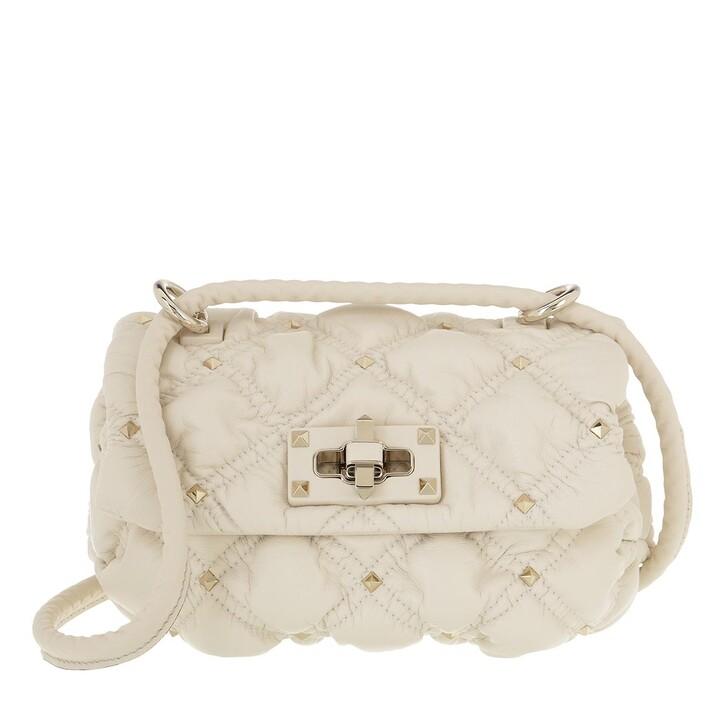 Handtasche, Valentino Garavani, Small Shoulder Bag  Light Ivory